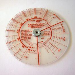 Analisador de discos de tacógrafo