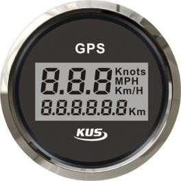 Velocímetro GPS digital à prova de água - 52mm